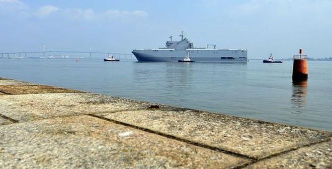 """""""Ưu đãi đặc biệt"""" của Nga dành cho Ai Cập nếu mua tàu Mistral"""