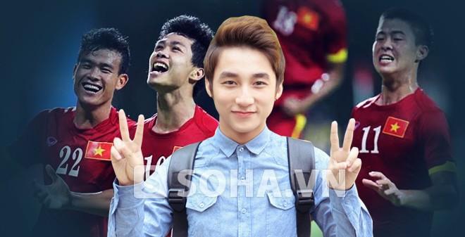 """Sơn Tùng M-TP nói gì khi bất ngờ """"góp sức"""" cho U23 Việt Nam?"""
