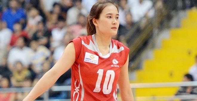 5 chân dài xinh đẹp của bóng chuyền Việt sáng bừng trên thảm đấu