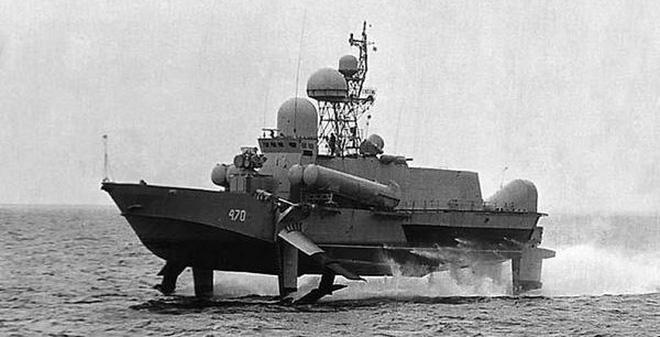 Tàu tên lửa tấn công nhanh cực dị của Liên Xô