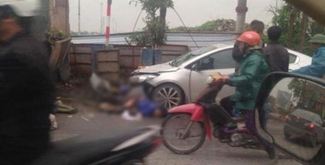 Đang dọn rác, 2 nữ lao công bị ô tô 4 chỗ tông tử vong