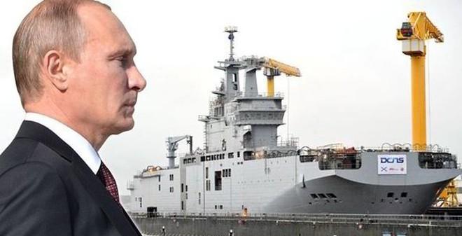 """""""Ác mộng"""" đáng sợ của HQ Pháp khi Nga không nhận được tàu Mistral"""