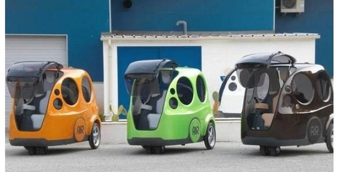 Ô tô chạy bằng khí nén giá hơn 200 triệu