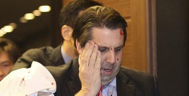 Đại sứ Mỹ tại Seoul bị tấn công