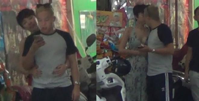 Hot: Tóc Tiên - Hoàng Touliver ôm hôn nhau cực tình cảm giữa phố