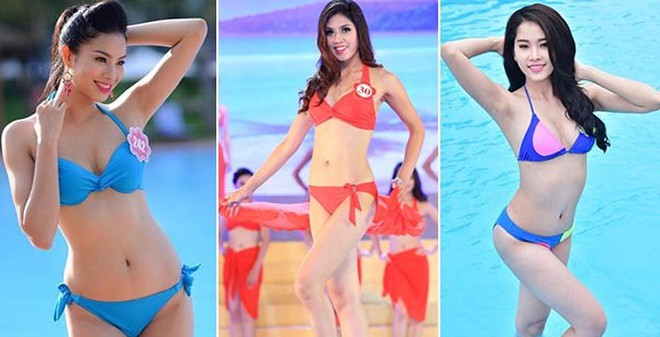 """4 mỹ nhân chịu khó """"săn lùng"""" danh hiệu Hoa hậu nhất Việt Nam"""