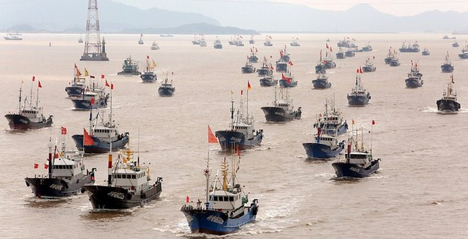 """Lật tẩy vỏ bọc lực lượng """"dân quân biển"""" TQ trên Biển Đông"""