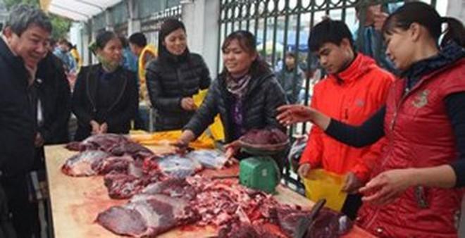 Mẹo phân biệt thịt lợn sề, trâu nái biến thành thịt bò