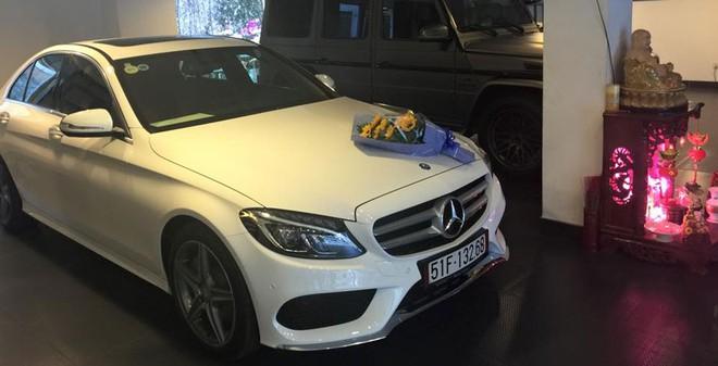 Cường Đôla khoe Mercedes C250 AMG biển đẹp mới tậu