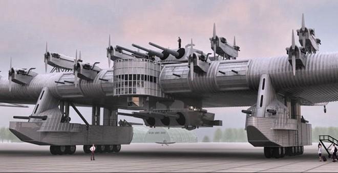 """Khám phá """"Thiết giáp hạm trên không"""" của Liên Xô"""
