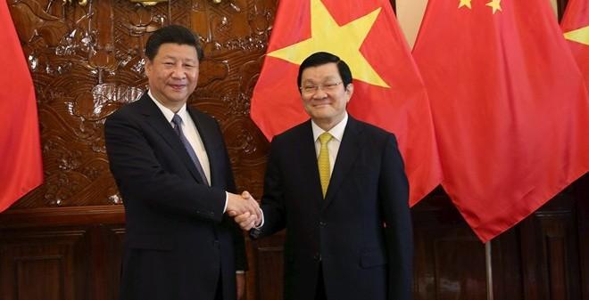 Chủ tịch nước nói gì về Biển Đông khi gặp ông Tập Cận Bình?