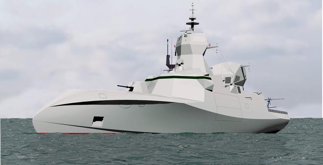 """C Sword 90 - Chiến hạm """"dị hình"""" Pháp chào bán cho Việt Nam"""