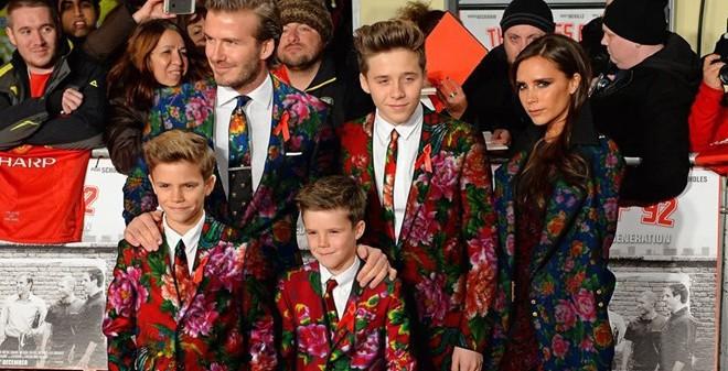 """Beckham cũng """"phát sốt"""" với """"chăn con công""""?"""