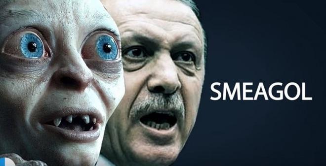 """Vụ kiện xúc phạm Erdogan: """"Đó là Sméagol, không phải Gollum"""""""