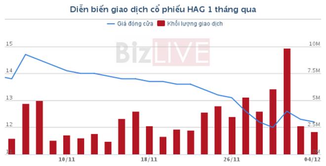 [Cổ phiếu nổi bật tuần] Lận đận HAG