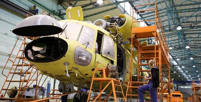 [ẢNH] Thăm nhà máy chế tạo trực thăng Mi