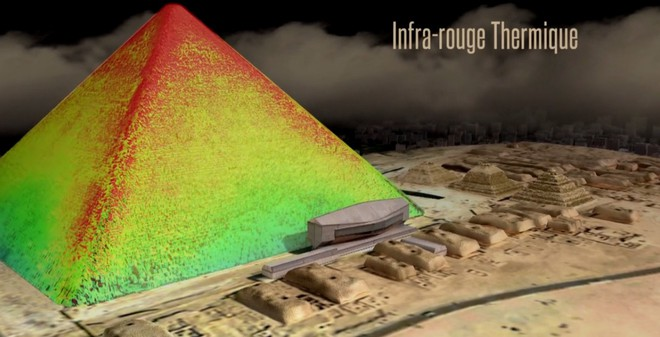 Dùng công nghệ ảnh MUON giải mã kim tự tháp 4500 năm tuổi