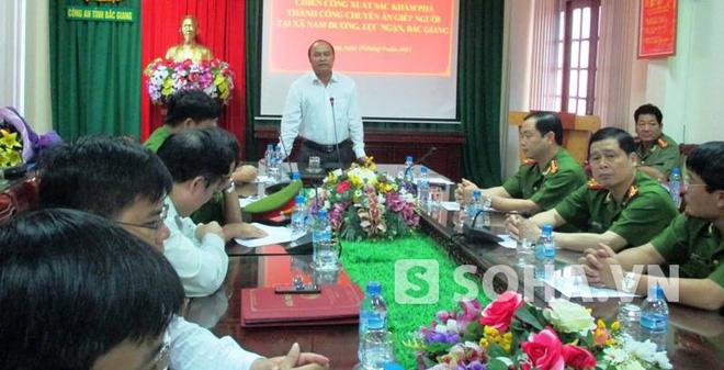 Huy động 500 cán bộ, chiến sĩ phá vụ trọng án ở Bắc Giang
