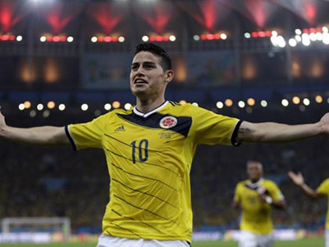 Những ngôi sao mới của bóng đá thế giới năm 2014: Varane, James Rodriguez, De Gea...