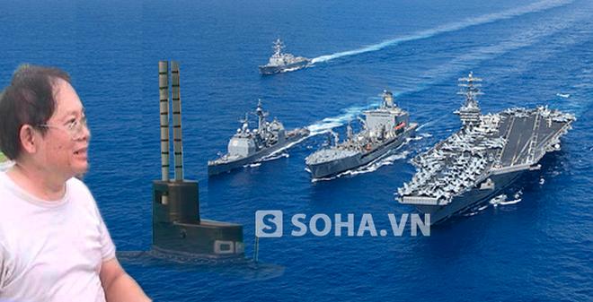 Ông Phan Bội Trân: Hạm đội tàu ngầm của mình sẽ ngang Hạm đội 7