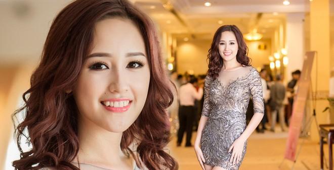 Hoa hậu Mai Phương Thúy mặc váy quá ngắn