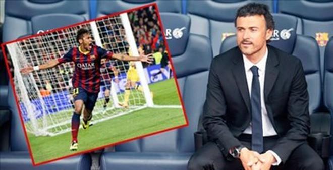 HLV Enrique ủng hộ việc cầu thủ Bilbao… đánh Neymar!