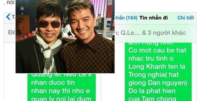 Công bố tin nhắn khủng khiếp Mr Đàm cảnh cáo Quang Lê