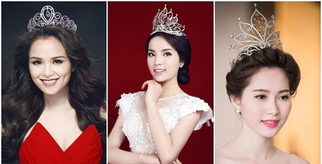 Sự thật bảng điểm của các Hoa hậu Việt Nam