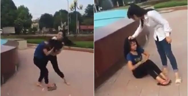 Bức xúc nữ sinh Thanh Hóa đánh bạn dã man rồi quay clip