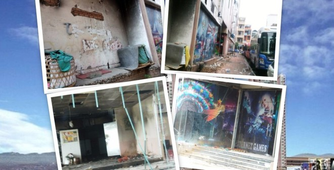 Những hình ảnh bộc lộ rõ sự hoang tàn của Thuận Kiều Plaza