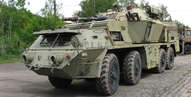 Hệ thống tên lửa - pháo phòng không tự hành ít biết của Tiệp Khắc