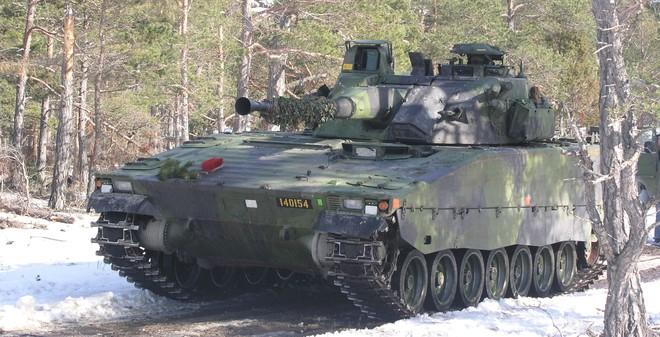 CV90 - Quái vật biến hình cực mạnh của châu Âu