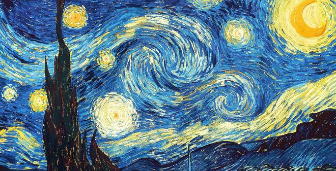 Nguyên lý bí ẩn đằng sau bức tranh kinh điển của Van Gogh