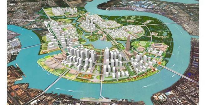 """Những """"ông trùm"""" địa ốc rót hàng tỷ đô la vào Khu đô thị mới Thủ Thiêm"""