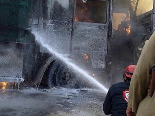 Bí ẩn vụ đoàn xe của Thổ Nhĩ Kỳ bị không kích trên đất Syria