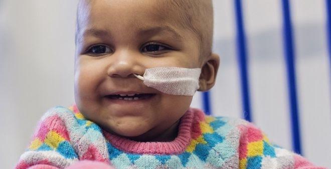Kỳ diệu em bé đang chờ chết được chữa khỏi ung thư