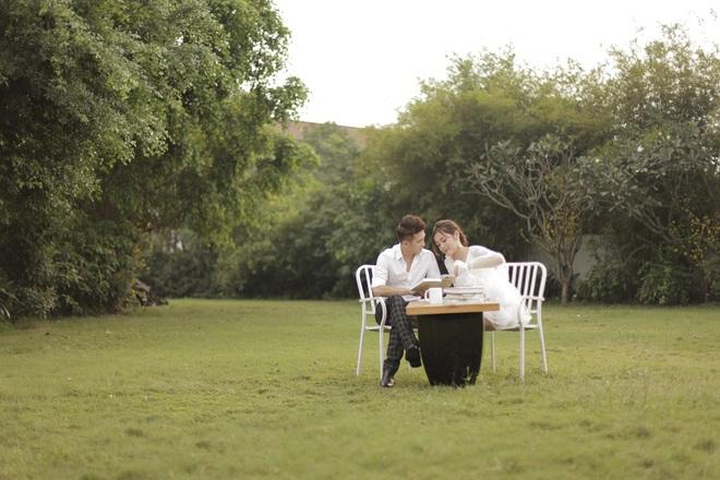 Đinh Ứng Phi Trường không sợ vợ ghen khi đóng cặp với hot girl - Ảnh 3.