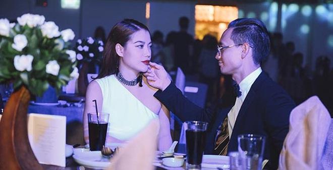 Kim Lý công khai thể hiện tình yêu với Trương Ngọc Ánh