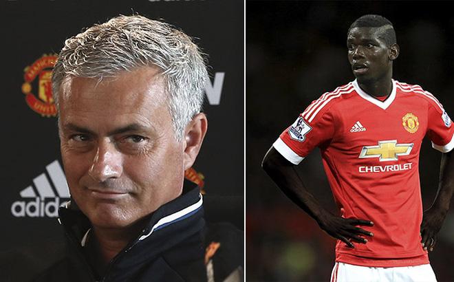 """Mourinho tiết lộ phản ứng """"dị"""" của Pogba khi biết phải đối đầu anh trai"""