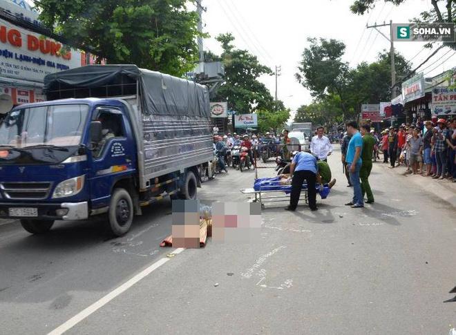 Xe cứu thương tông chết người rồi bỏ trốn ở TP.HCM - Ảnh 1.