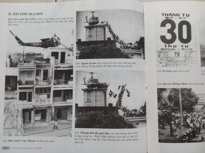 Sách ảnh Sài Gòn in nhầm ảnh chế dòng người di tản 1975  - Ảnh 1.