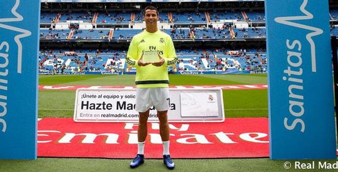 """Ronaldo nhận danh hiệu """"Cầu thủ khỏe nhất Real Madrid"""""""