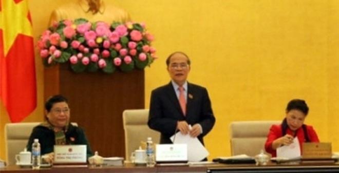 Ủy ban Thường vụ quốc hội khóa XIII họp phiên cuối cùng