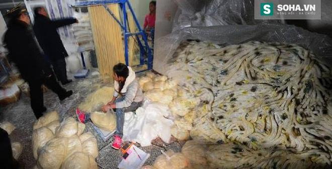 Những cảnh tượng ghê rợn về thực phẩm bẩn ở TQ