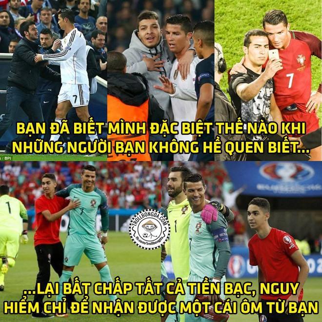 Ảnh chế: Ronaldo hí hửng vào trại giam thăm Messi - Ảnh 5.