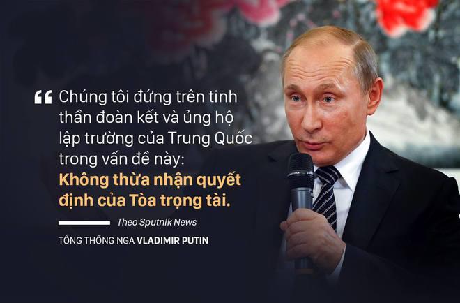 Nga là nước lớn đầu tiên ủng hộ Trung Quốc về vụ kiện biển Đông - Ảnh 1.
