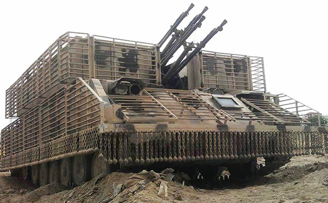 Chiến trường khốc liệt Syria: Pháo phòng không tự hành ZSU-23-4 liên tiếp lập công!