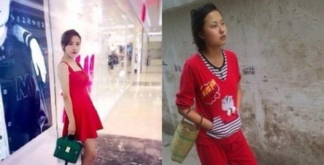 Ngỡ ngàng hình ảnh khác biệt trước và sau Tết cuả các thiếu nữ