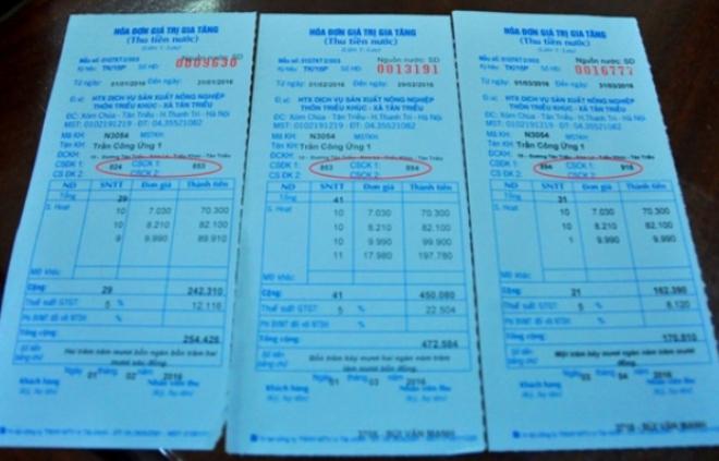 Vụ hóa đơn nước 19 triệu: Xã triệu tập Chủ nhiệm HTX lên làm việc - Ảnh 1.