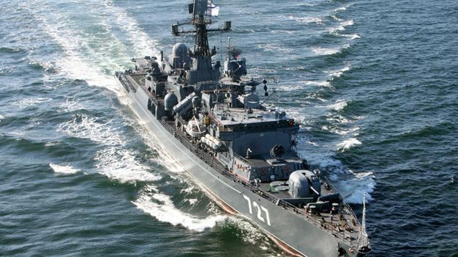 Tìm hiểu tàu chiến Nga vừa chạm trán khu trục hạm Mỹ trên biển - Ảnh 3.